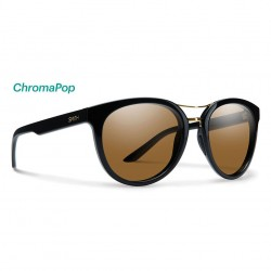Image from Smith Bridgetown ChromaPop™ Polarized Sunglasses (Women's) - Black/Brown