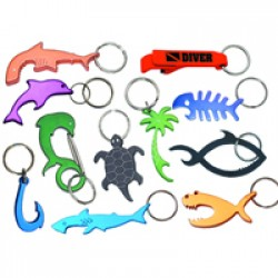 Image from Bonefish Bottle Opener Key Chain