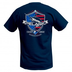 Image from Pelagic Patriot Marlin Short-Sleeve T-shirt (Men's)