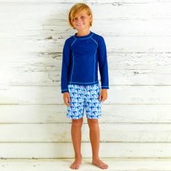 Image from Cabana Life Swim Shorts And Rashguard Set (Boys')