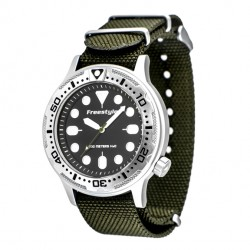 Image from Freestyle Ballistic Diver Analog Dive Watch (Men's)
