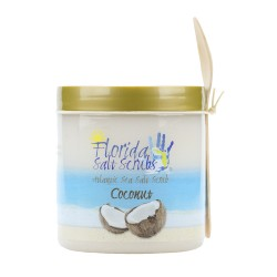 Image from Florida Salt Scrubs Coconut 24oz Jar
