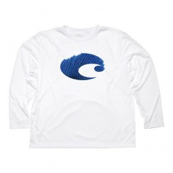 Image from Costa del Mar Technical Sailfish Long Sleeve UV Shirt front
