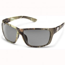 Image from Suncloud Councilman Sunglasses - Matte Camo/ Gray Polarized Lens