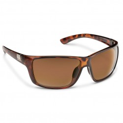 Image from Suncloud Councilman Polarized Polycarbonate Sunglasses (Men's) - Tortoise/Brown