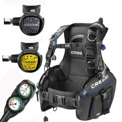 Image from Cressi AquaPro+ BCD Scuba Package