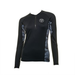 Image from EVO Cruise UPF 50+ Long-Sleeve Quarter-Zip Sunshirt (Women's)