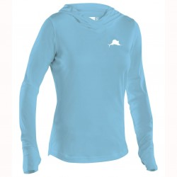 Image from Pelagic UltraTek +50 UV Hooded Sunshirt (Women's)