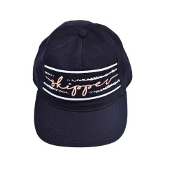Image from Reel Skipper Striped Dad Hat (Women's) - Navy