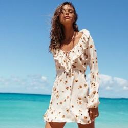 Image from Billabong Take Away Long-Sleeve Dress (Women's)