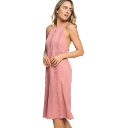 Image from Roxy Blurred Landscape Halter Neck Dress (Women's)
