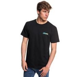 Image from Quiksilver Rough Script Short-Sleeve T-Shirt (Men's) Black