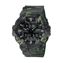 Image from Casio G-Shock GA700CM Series Camo Wrist Watch (Men's) Green