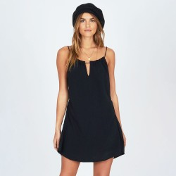Image from Amuse Society Tour D'Amour Mini Cover-Up Dress (Women's) - Black