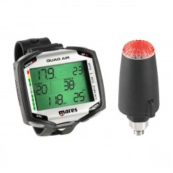 Image from Mares Quad Air Wrist Dive Computer with LED Transmitter