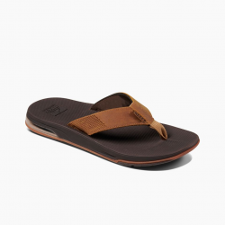 Image from Reef Leather Fanning Low Waterproof Leather Sandals (Men's)