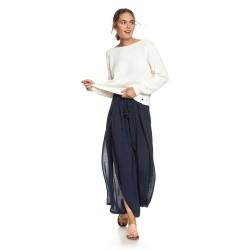 Image from Roxy Kuta Wide Leg Pants (Women's) Dress Blues