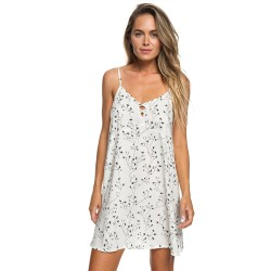 Image from Roxy Full Bloom Strappy Dress (Women's) Marshmellow
