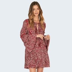 Image from Amuse Society La Palma Dress (Women's) Crimson