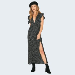 Image from Amuse Society Keeping It Frill Dress (Women's) Black