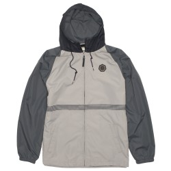 Image from Vissla Dredges II Windbreaker Jacket (Men's) Light Grey