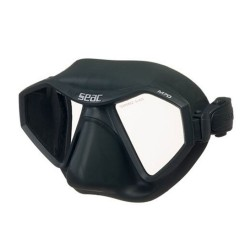 Image from SEAC M70 Two-Lens Low-Profile Freediving Mask - Black