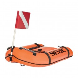 Image from Seac Bounty Inflatable Dive Float - Orange