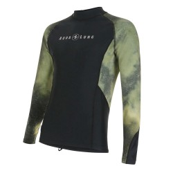 Image from Aqua Lung Galaxy Long-Sleeve UPF 50+ Rashguard (Men's) GCAMO