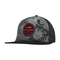 Image from PELAGIC Hex Camo Snapback Cap (Men's) Black