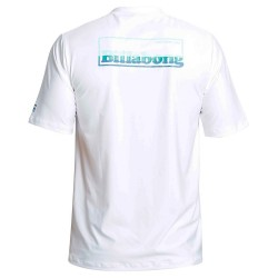 Image from  Billabong Free 73 UPF 50+ Loose-Fit Short-Sleeve Rashguard (Men's) White