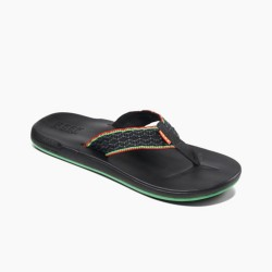 Image from Reef Cushion Smoothy Sandals (Men's) Rasta