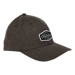 Image from Billabong Walled Snapback Hat (Men's) Heather Grey