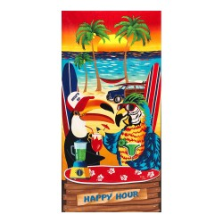 """Image from A To Z Towels Happy Hour Beach Towel 30X60"""""""