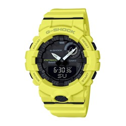 Image from G-Shock GBA800 Analog-Digital with Bluetooth Watch (Men's) Yellow