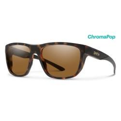 Image from Smith Barra ChromaPop Sunglasses (Men's) Matte Tortoise Brown Lens