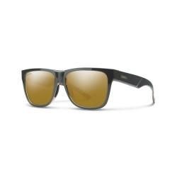 Image from Smith Lowdown 2 ChromaPop+ Polarized Polycarbonate Sunglasses (Men's) Gravy Tortoise Bronze Lens