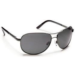Image from Suncloud Aviator Polarized Polycarbonate Sunglasses (Men's) Gunmetal Gray