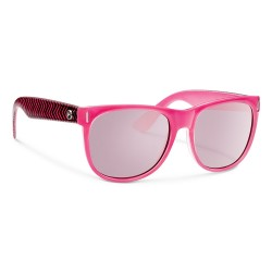 Image from Forecast Avery Polarized Polycarbonate Sunglasses (Women's) Hot Pink Pink Lens