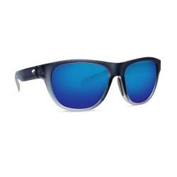 Image from Costa Bayside Polarized Sunglasses (Men's) Bahama Blue Frame with Blue Lenses