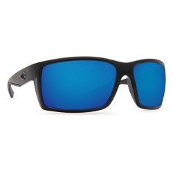 Image from Costa Reefton Polarized Sunglasses (Men's) Blackout Frame with Blue Mirror Lenses