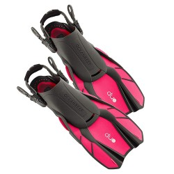 Image from Ocean Reef DUO Fins with Adjustable Straps Pink