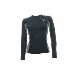 Image from EVO Delmar UPF 50+ Long-Sleeve Full Front Zip Rashguard (Women's)