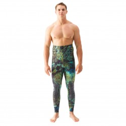 Image from Riffe Digi-Tek Camo Wetsuit - 3.5mm High Waist Pants
