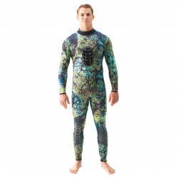 Image from spearfishing wetsuit front