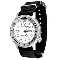 Image from Freestyle Ballistic Diver Watch - Black