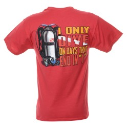 Image from Dive Days Scuba T-Shirt