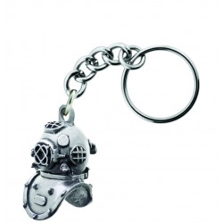 Image from Sparta Pewter Hardhat Diver Key Chain