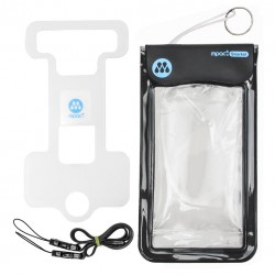 Image from Innovative Scuba Concepts MPAC+ Snorkel Universal Waterproof Smartphone Case - Black