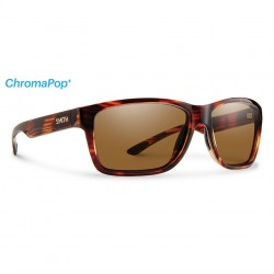 Image from Smith Drake Polarized Polycarbonate Sunglasses - Tortoise/Bronze Mirror