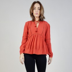 Image from Amuse Society Chateau Woven Top (Women's)